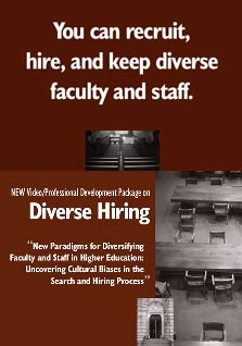 NEW Video/Professional Development Package on Diversity Hiring